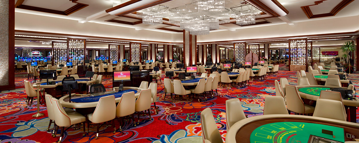 Casino at Solaire Resort and Casino - Manila, Philippines