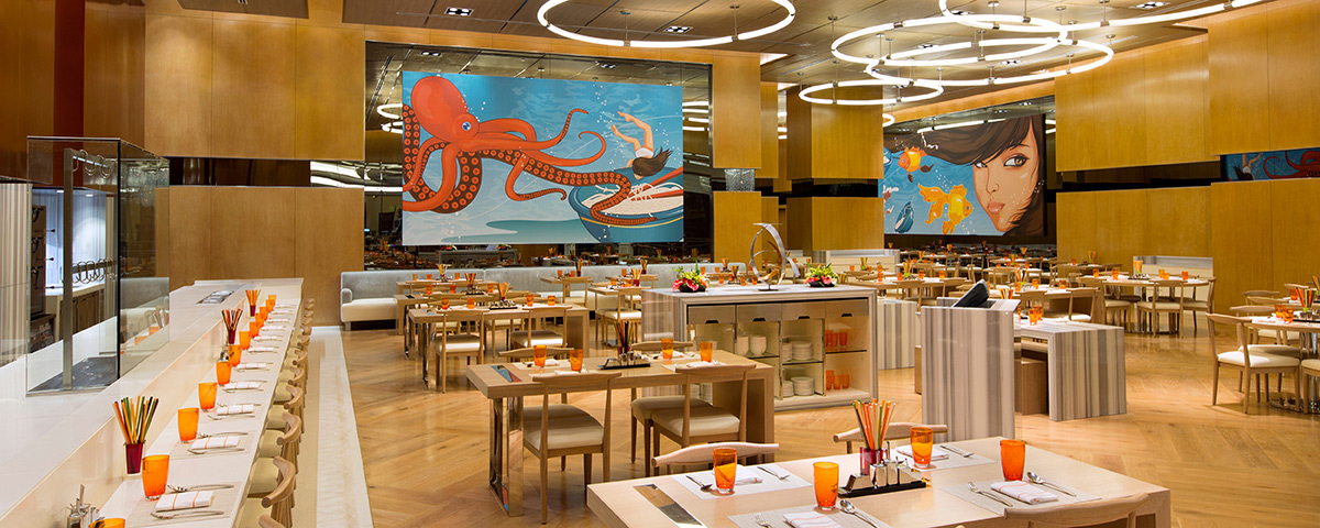 Lucky Noodles Restaurant at Solaire Resort and Casino - Manila, Philippines