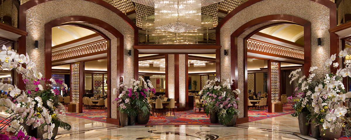 Lobby at  Solaire Resort and Casino - Manila, Philippines