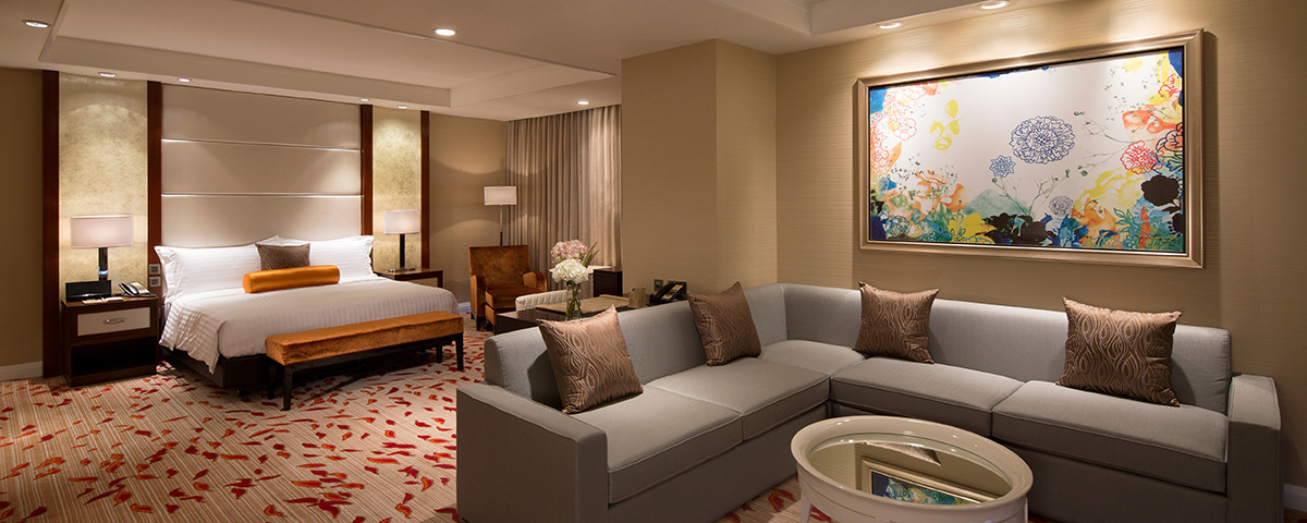 Room at Solaire Resort and Casino - Manila, Philippines