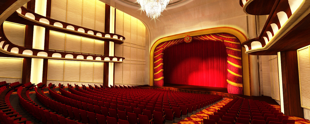 Theater at NagaWorld Hotel & Entertainment Complex - Phnom Penh, Cambodia