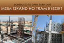 Construction Continues at MGM Ho Tram Resort
