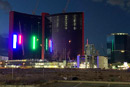 VIDEO: Resorts World Las Vegas lights offer glimpse of future on Strip