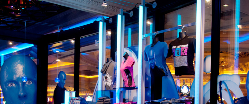 Blue Man Group Retail Comes to Light