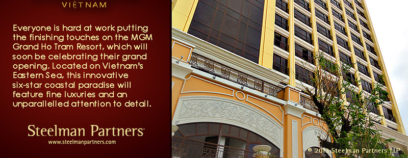 MGM Grand Ho Tram Opening Soon!