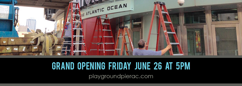 Playground - One Atlantic Ocean - Grand Opening - Friday June 26 at 5pm