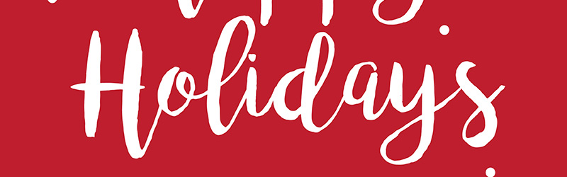 Happy Holidays from All Your Friends at Steelman Partners