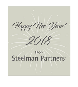 Happy New Year! 2018 from Steelman Partners