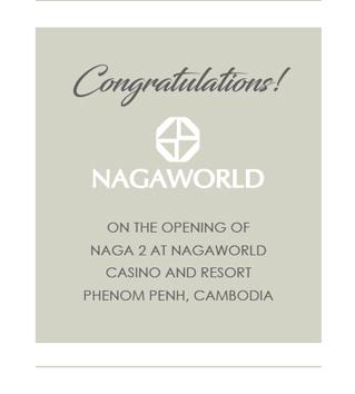 Congatulations Nagaworld!
