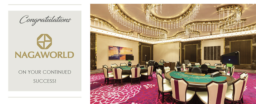 Congratulations NagaWorld on your continued success!