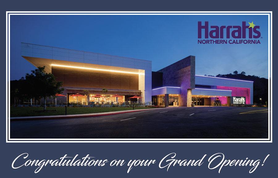 Grand Opening of Harrah's Northern California