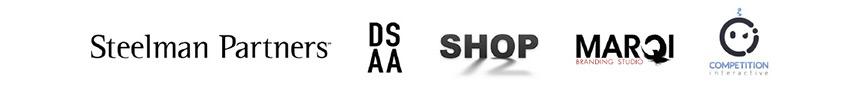 Steelman Partners | DSAA | shop12 | Inviro Studios | Marqi Branding | Competition Interactive